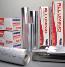Avvolgenti per alimenti rotolo in alluminio