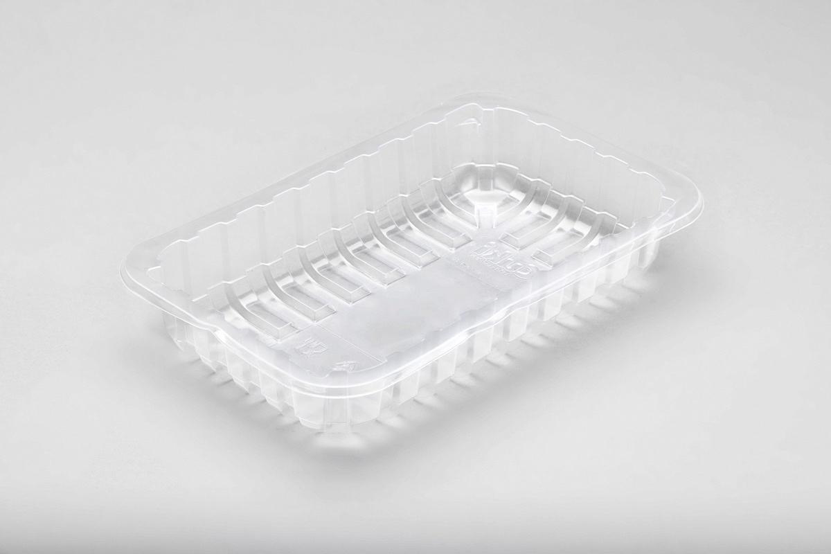 Contenitori in plastica rettangolare piccolo per alimenti