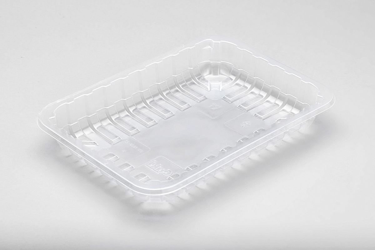 Contenitori in plastica rettangolare grande per alimenti