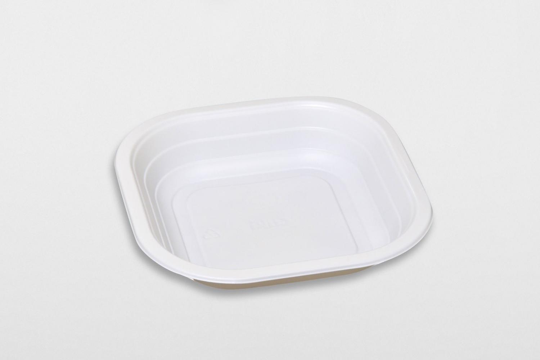 Contenitori compostabili piatto fondo