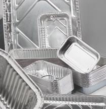 Contenitori in alluminio e coperchi tradizionali