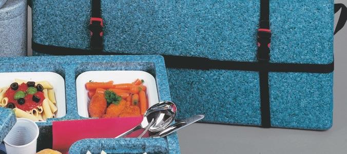 Casse termiche in polipropilene per catering