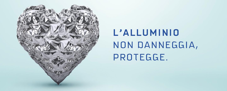 L'alluminio non danneggia, protegge.